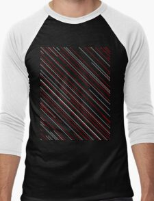 Lines Men's Baseball ¾ T-Shirt