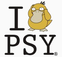 I Heart Psyduck by themutato