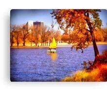 Autumn Sail Canvas Print