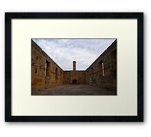 Guardhouse on Cockatoo Island. Framed Print