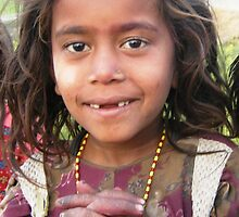 a young girl i met in lowlands terai, NEPAL by Lamtari