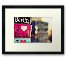 Streets of Berlin #4 Framed Print