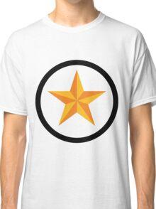 Star - Black Ring Classic T-Shirt