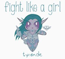 Fight Like a Girl - Tyrande | WarCraft Kids Clothes