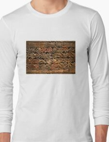 Mayan pictograph at the Anthropological Museum in Mexico City  Long Sleeve T-Shirt