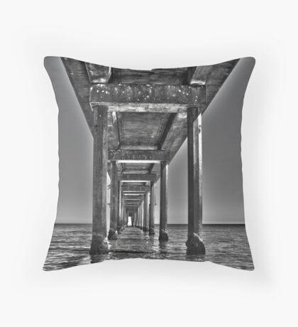 Brighton pier Throw Pillow