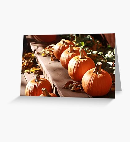 Ready for Carving  Greeting Card