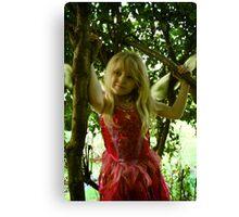 Happy Fairy Canvas Print