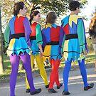 A Colorful Walk ... by Danceintherain