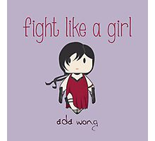 Fight Like a Girl - Ada Wong | Resident Evil Photographic Print