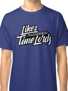 Likes Time Lords Classic T-Shirt