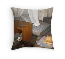 Brisbane Floods 2011 - Aftermath - Have You Tidied Your Room Yet? Throw Pillow