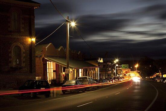 Daylesford at Night by John Vandeven