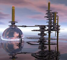 Carbon Dioxide Sequestration Station by Hugh Fathers