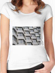 COncrete MAtrix Women's Fitted Scoop T-Shirt