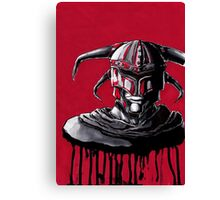 Blood Knight Canvas Print