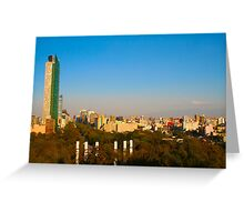 Mexico City Greeting Card