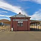 Wallangarra Train Station, QLD by clearviewstock