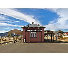 Wallangarra Train Station, QLD Photographic Print