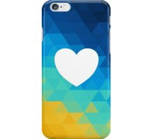 colorful heart iPhone Case/Skin