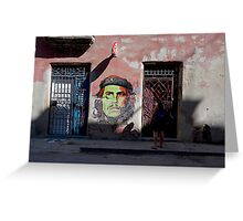 Che Street Art Greeting Card