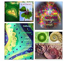 Affirmations for Spring Photographic Print