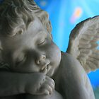 Sleeping Cherub by aussiebushstick