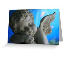 Sleeping Cherub Greeting Card