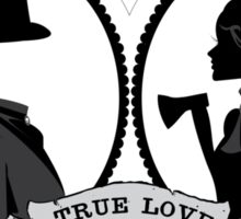 True Love by Topher Adam Sticker