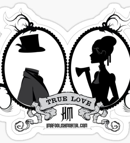 True Love by Topher Adam Sticker