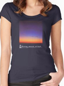 Flying Saucer Attack : Rural Psychedelia Women's Fitted Scoop T-Shirt