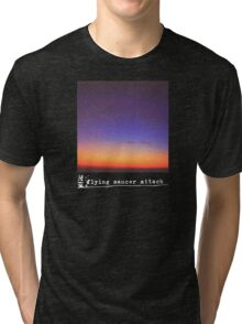 Flying Saucer Attack : Rural Psychedelia Tri-blend T-Shirt