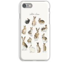 Rabbits & Hares iPhone Case/Skin