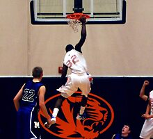 DGB Hanging on the Rim by Mark A. Queen