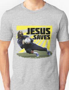 JESUS SAVES ( SOCCER ) T-Shirt