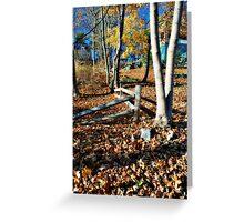 Autumn in the Neighborhood Greeting Card