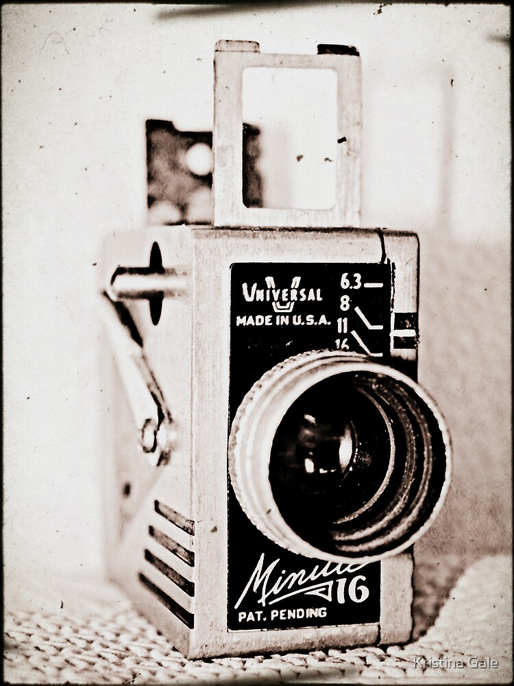 Dad's Video Camera by Kristina Gale