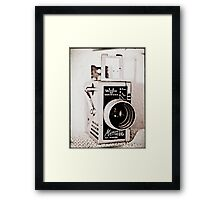 Dad's Video Camera Framed Print