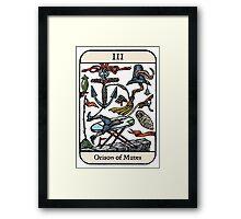 Orison of Mutes Framed Print