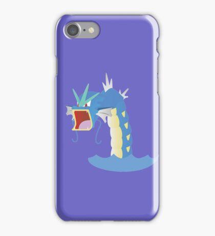 Angry Gyarados! iPhone Case/Skin