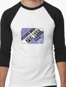 usa new york tshirt by rogers bros co Men's Baseball ¾ T-Shirt