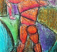 Abstract Croquis of a Nude Male 09 by Nasko .