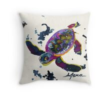 Letter to a Hatchling Throw Pillow