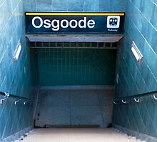 Osgoode Subway Station by Gary Chapple