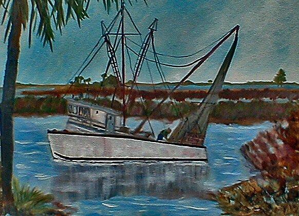 Yankee Town Fishermen by Newhouser