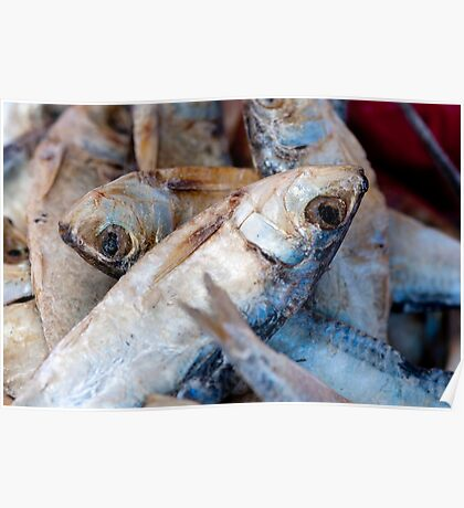 Dried Fish Poster