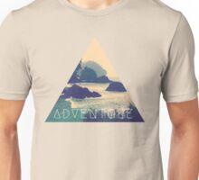 Wanderlust Beach Boho Typography Adventure Print Unisex T-Shirt