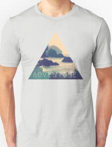 Wanderlust Beach Boho Typography Adventure Print T-Shirt