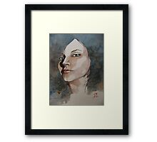 Simone Actor Framed Print