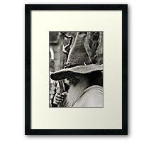 Terry Potty Framed Print
